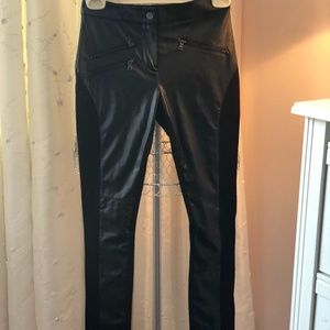 BCBGMAXAZRIA  Leather Pants